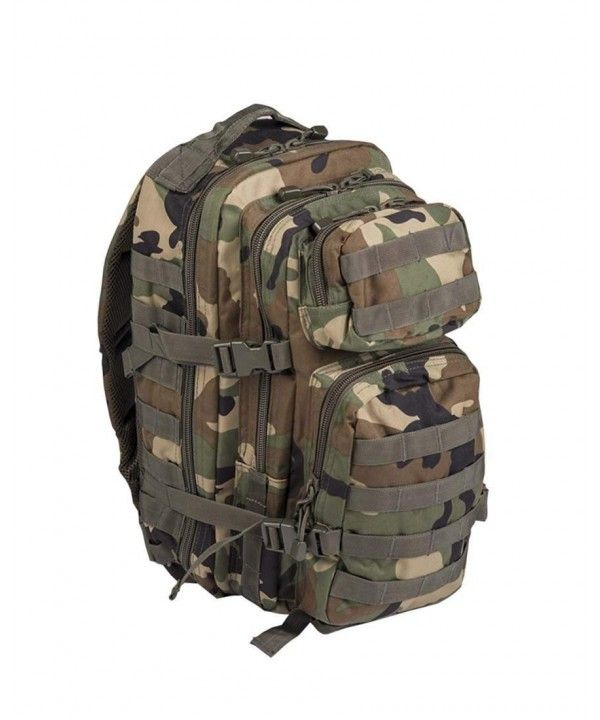 389108f062a Luggage & Travel Gear, Backpacks, Military Army Patrol Molle Assault Pack  Tactical Combat Rucksack Backpack Bag 20L Woodland Camo - C3115H74KJZ  #Luggage ...