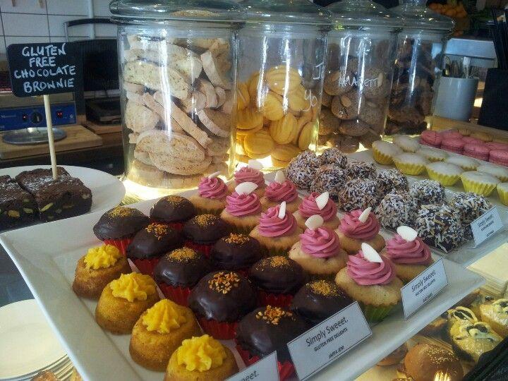 Fifteen Pounds' cafe new gluten free treats. Railway Pl #Fairfield opposite train station