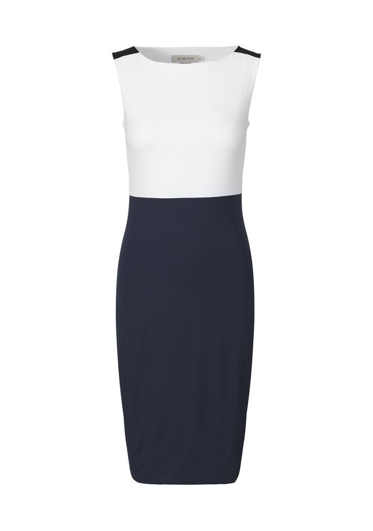 Nilo tri-color dress/9206 ELISE GUG SS16