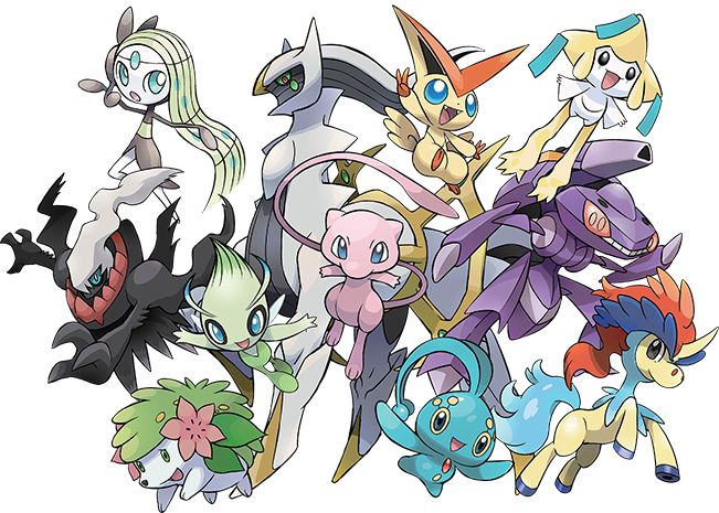 Celebrate 20 years of Pokémon with these Mythical Pokémon distribution events!