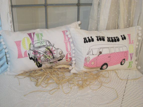 Embroidery and appliqued 'All you need is by BrambleWoodANDivy