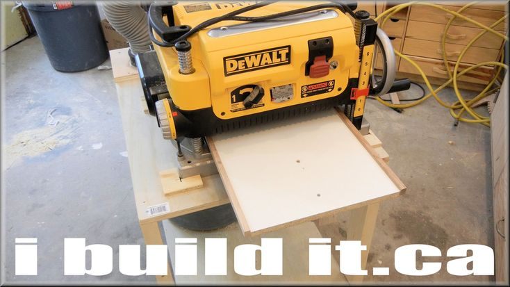 Mobile Planer Stand For DeWalt DW735 | tools | Pinterest | Stand for, Watches and Mobiles