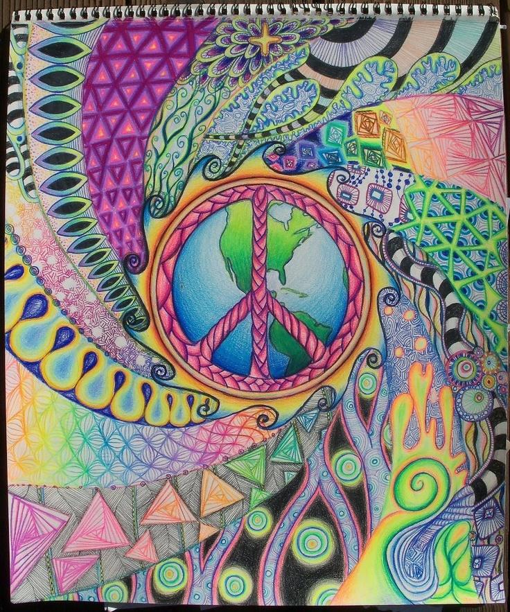 Visualize world peace