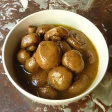 Golden Corral Restaurant Copycat Recipes: Marinated Mushrooms