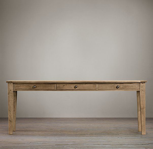 1900s boulangerie console with storage restoration hardware for the home pinterest - Restoration hardware entry table ...