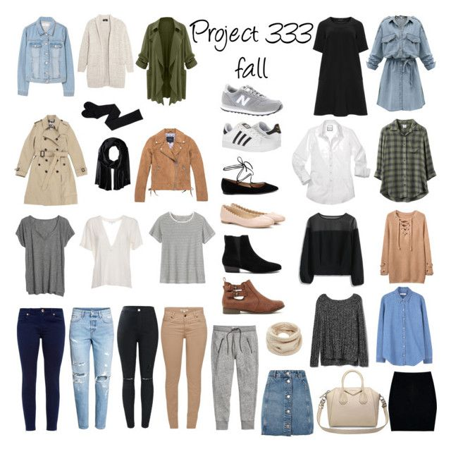 """Project 333: Fall #1"" by prips-esteves on Polyvore featuring Marc New York, Burberry, Line, MANGO, WithChic, Gap, Chicwish, RVCA, Barbour and IRO"