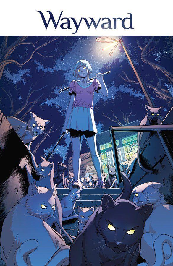 Wayward #1 by Jim Zub, Steve Cummings and John Rauch - The Moon is a Dead WorldThe Moon is a Dead World