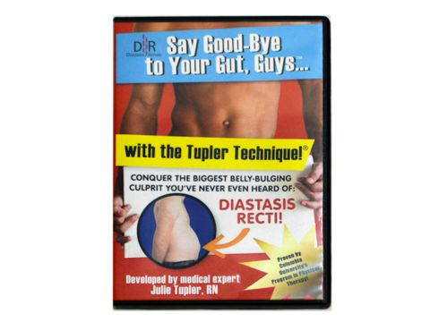 DVD: Diastasis Rehab Say Good Bye to Your Gut, Guys®