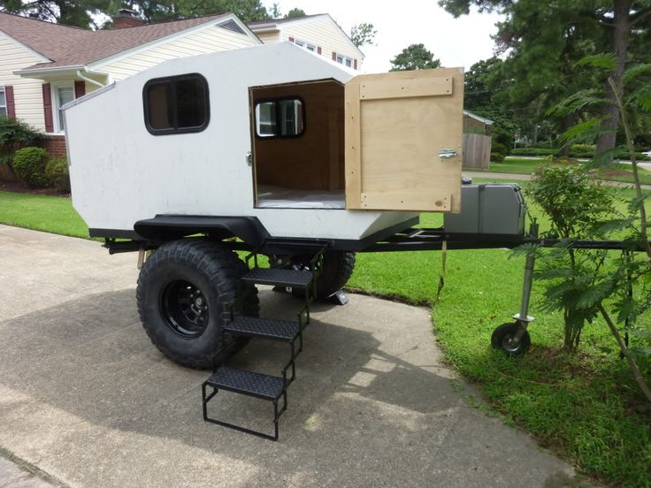 homemade camper trailers