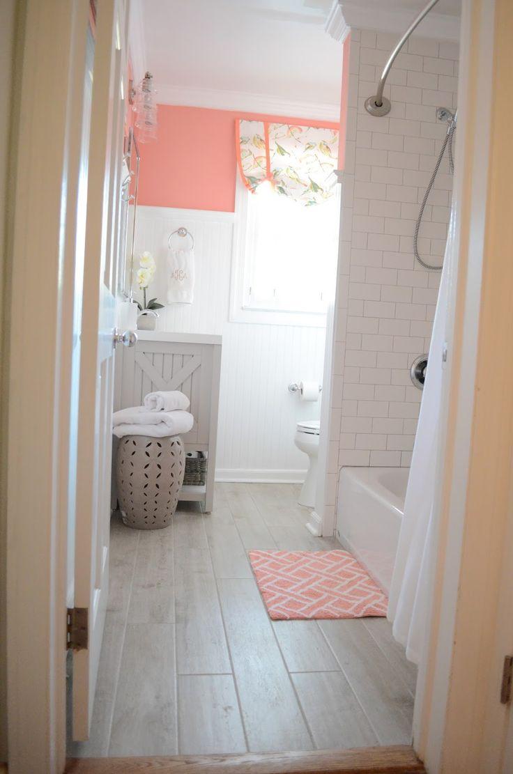 best 25 coral bathroom ideas on pinterest coral bathroom decor coral and gray bathroom