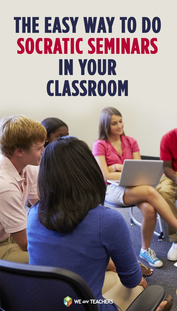 How I learned to stop being afraid of socratic seminars.  Great for middle school and high school teachers.