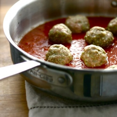 Herbed Turkey Meatballs -CAF Archive | Appetizers | Pinterest