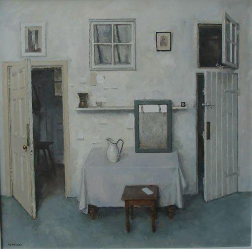 CHARLES HARDAKER Interior - Three Doors and a Mirror