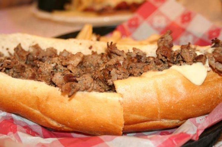 Philly Cheese Steak Sandwich Recipe from Chef Brody's Favorite Recipes