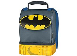 Batman Lunch Box/Cooler - insulated.   This lunch box is so SUPER, it comes with its own cape~! No, really...it does!