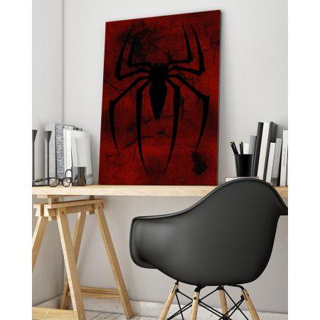 Spiderman Logo Canvas Art - Marvel Canvas Art