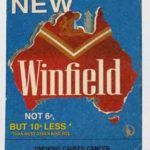 "Winfield Coaster Ireland  Winfield Coaster Ireland   This is a great looking Winfield Coaster from Ireland. ""New Winfield - Not 6p but 10p less"" Double Sided. VERY HARD TO FIND in this condition! Perfect for the bar or collection.  See it in our store.  http://mantiqueaustralia.com.au/"
