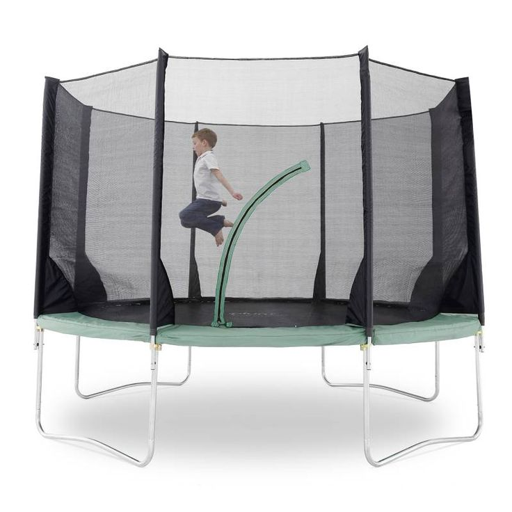 Plum Space Zone 12ft Kids Trampoline with Enclosure | Buy 12ft Trampoline