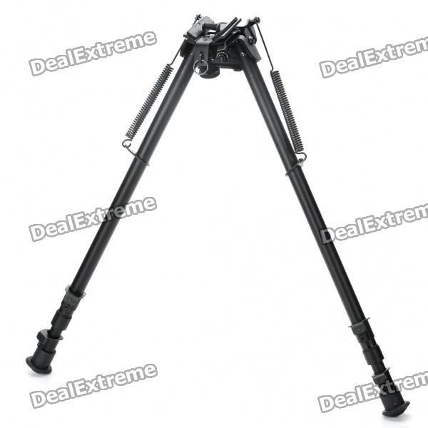 """27"""" Retractable Aluminum Alloy Tactical Spring Loaded Bipod Rifle Stand for M4 / M16 (Max. 50Kg) Price: $45.20"""