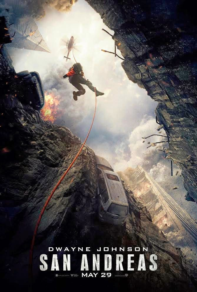 San Andreas - The Rock vs The Earthquake. Harking back to the classic disaster films of the past aren't enough to stop this feeling underwhelming despite Johnson's best efforts and some impressive visual effects