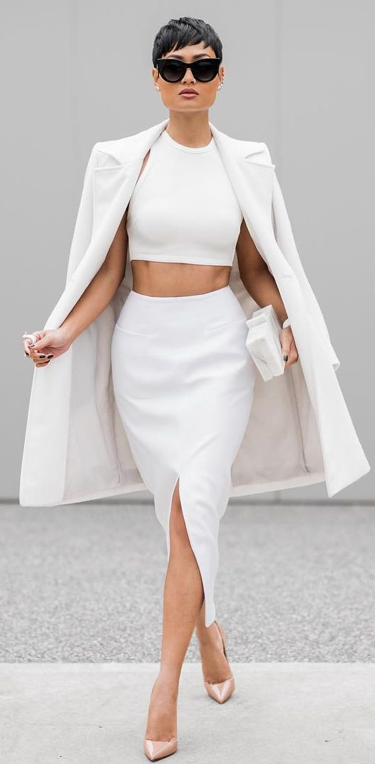 Best 25  All white outfit ideas on Pinterest