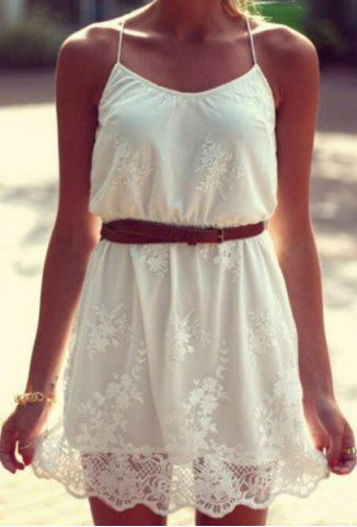 Belt your favorite sundress for a more fitted feel - pair this look with strappy sandals or wedges.