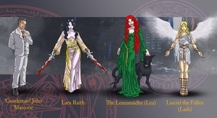 Dresden Files characters 2 by wildcard24.deviantart.com on @deviantART