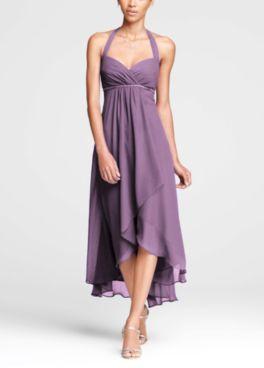 Wisteria bridesmaid dress l David's Bridal l Rapunzel
