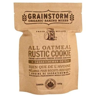 All Oatmeal Rustic Cookie Mix by Grainstorm