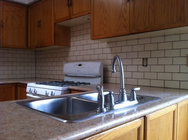 Subway tile kitchen backsplash project completed by Don Of All Trades Professional Home Maintenance Services.