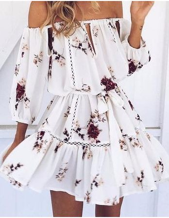 this kind of dress never looks like this on