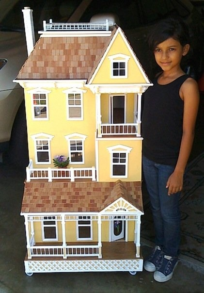 Victorian Doll House by www.poppieswoodshopdesigns.com