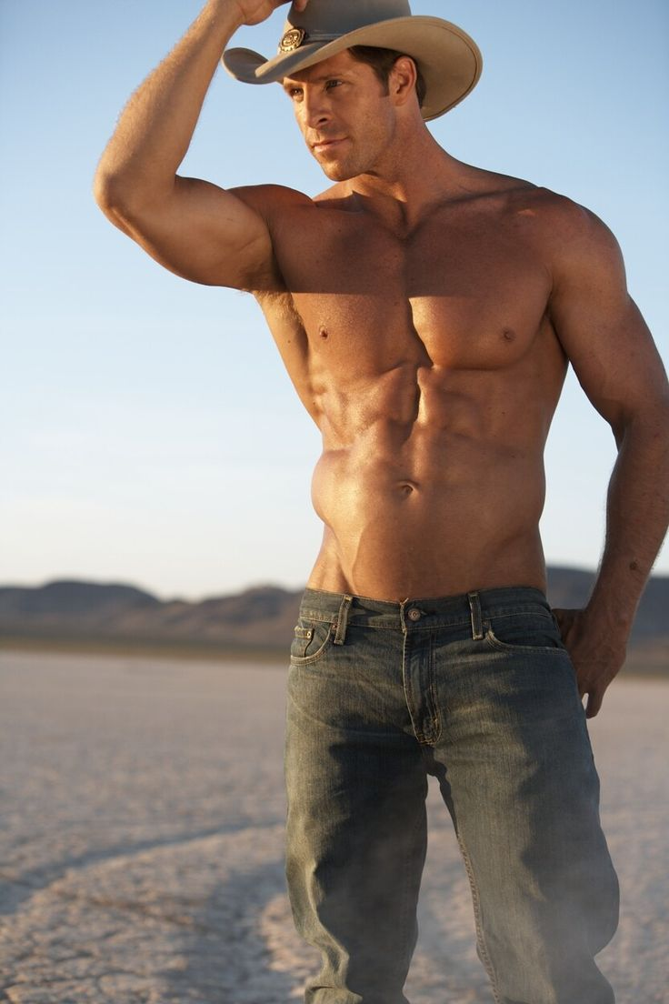 sexy muscle cowboys naked