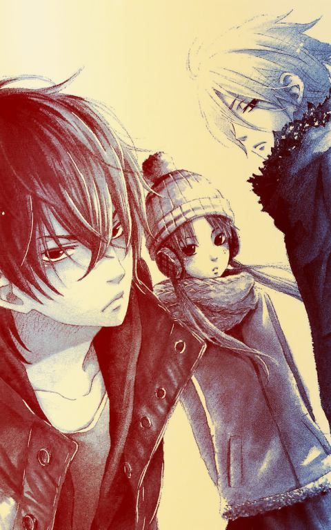My Little Monster -Great anime (one of my favourites), gorgeous picture. Haru was my favourite......