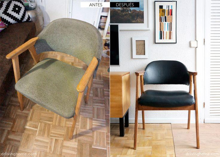 17 mejores ideas sobre como tapizar una silla en pinterest - Como tapizar sillas ...