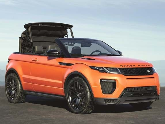 2017 Range Rover Evoque Convertible unveiled in L.A.