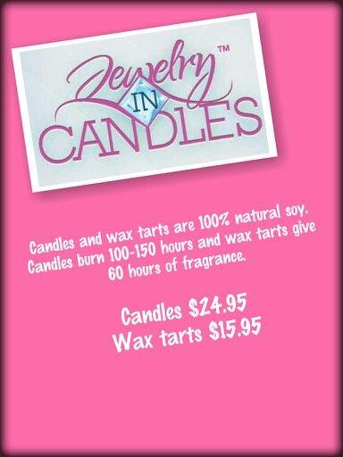Jewelry in Candles  https://www.jewelryincandles.com/store/lindamosacks