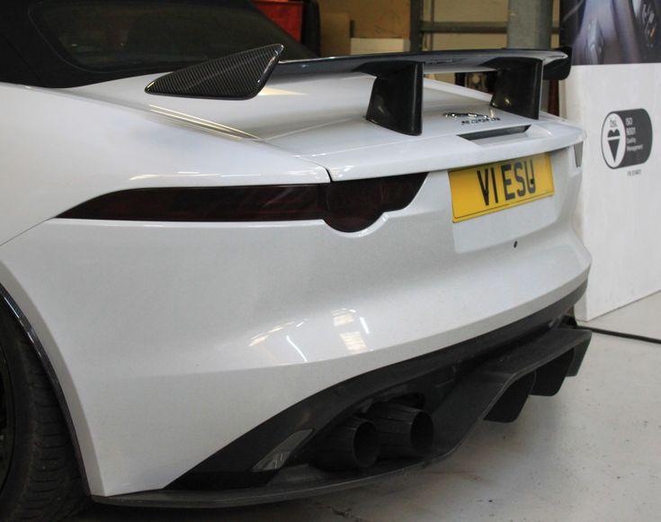 Jaguar f Type carbon fibre spoiler
