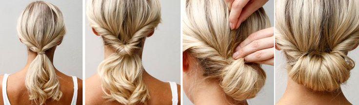 De Parisian bun is dé manier om een stijlvolle, maar edgy look te creëren. Met deze simpele tutorial heb jij in no time de ultieme Parisian hair do. Voila!