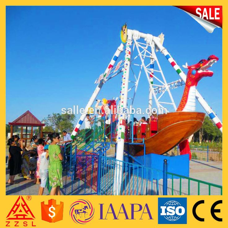 Amusement Park Kids Thrilling Attraction Rides 24 Seats Pirate Ship for Sale