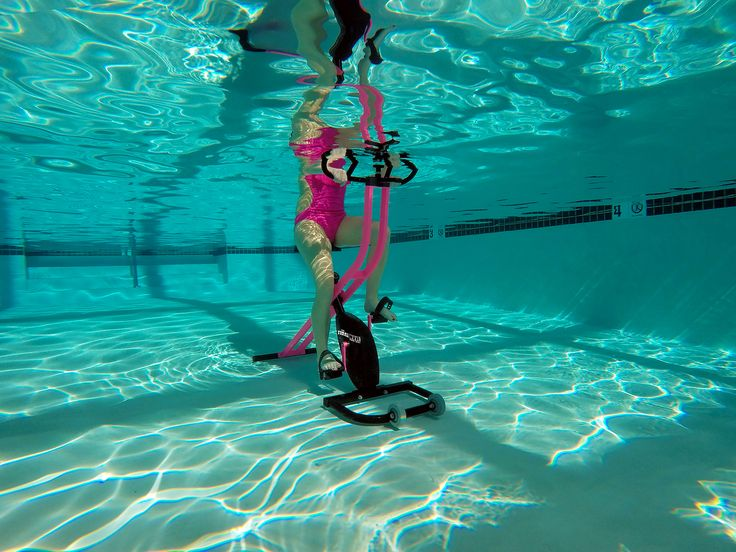 Get your fit on with the tidalwave aquatic bike aquatic - Exercise equipment for swimming pools ...