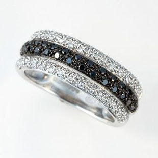 ☆ Black diamond band ☆LOVE Black Diamonds!! My new fav!!