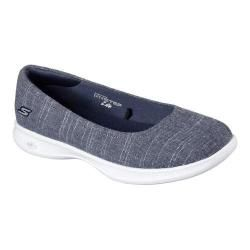 Shop for Women's Skechers GO STEP Lite Blush Skimmer Navy/White. Get free delivery at Overstock.com - Your Online Shoes Outlet Store! Get 5% in rewards with Club O!