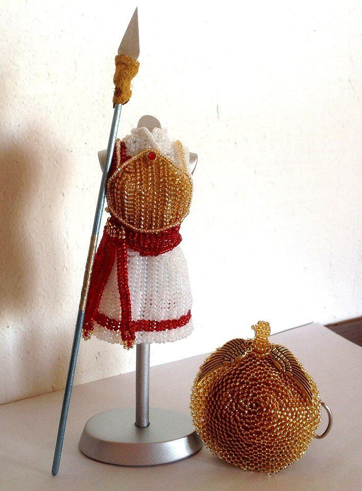 Miniature Beaded Dresses by PinkythePink - The Beading Gem's Journal