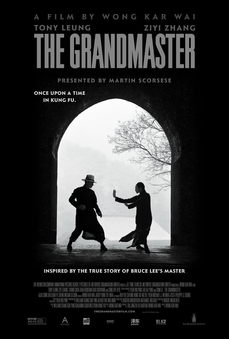 The Grandmaster (2013) Wong Kar Wai I am not much of a martial arts film guy anymore like I was as a child but for my money this is the greatest martial arts movie I have ever seen. It is a love letter to martial arts and the many styles within it.