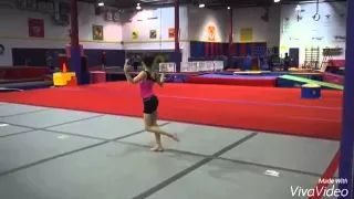 liv and annie gymnastics - YouTube
