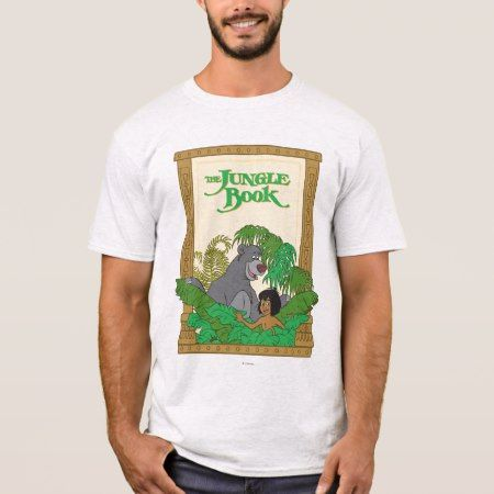 The Jungle Book - Mowgli and Baloo T-Shirt - click/tap to personalize and buy