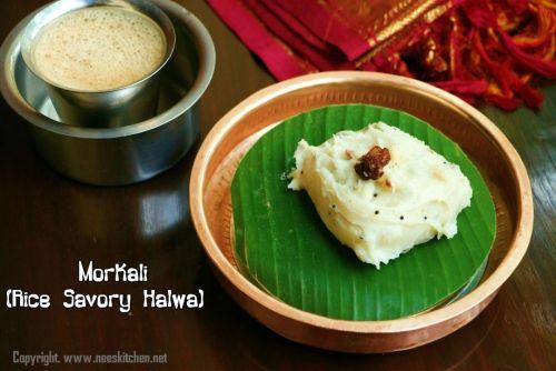 Morkali Recipe by Neeru Srikanth on Plattershare