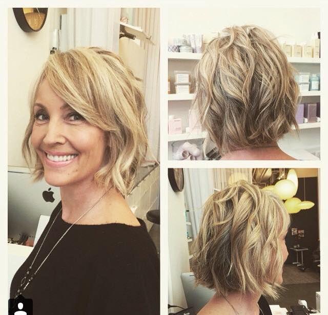 Die 40 vorbei? Sehr schöne mittellange Frisuren für Frauen über 40! - Seite 11 von 11 - Neue Frisur