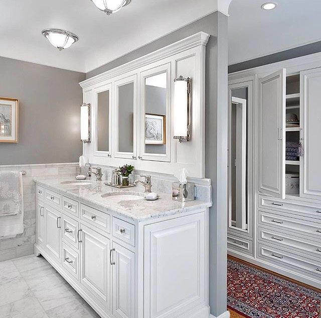 Best 25 Vanity In Closet Ideas On Pinterest: 19 Best Master Bath Closet Combo Images On Pinterest
